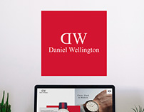 Daniel Wellington / redesign