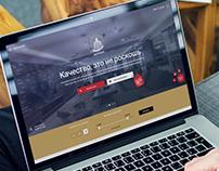 Eurocons - Design of Website (Landing Page)