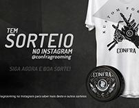 Material de Campanha de Sorteio @Confra.store