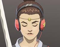 ~ Katana Girl ~