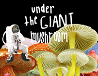 Under The Giant Mushroom - Book Cover Design Project