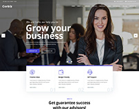 Corbiz - Multipurpose Business Consulting PSD Template