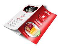Fruit Juice Trifold Brochure