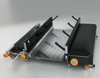 Logistics robot Hipoly model