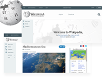 UI Case Study: Wikipedia redesign