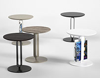 Free 3d model / Alfred Side Table by Bontempi
