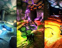 Molecular video game