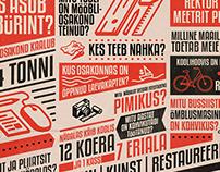 Tartu Art College Student entrance poster & concept.