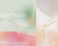 Kintsugi Gradient Backgrounds,Textures