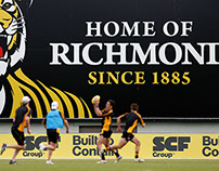 Richmond Billboard at Punt Road Oval