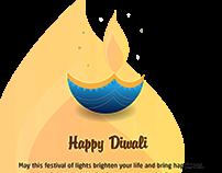 Diwali 2017 illustration