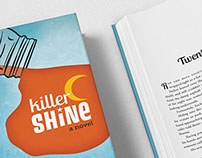 Killer Shine Fiction Book Design