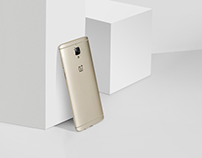 OnePlus 3 softgold commercial photo