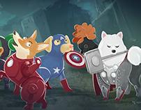 Dog Avengers