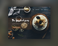 Daily UI 003 - Landing Page restaurant