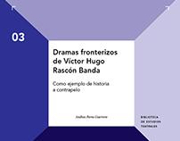 Colección Biblioteca de Estudios Teatrales