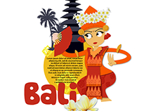 Indonesian Heritage Illustration