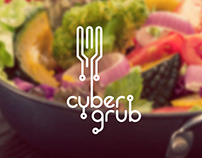CyberGrub - Identity Design