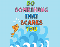 Poster - Do something that scares you