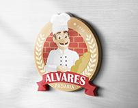 Logo & Mascote - Padaria Alvares