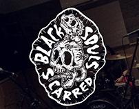 Branding Black Souls Scarred - Banda