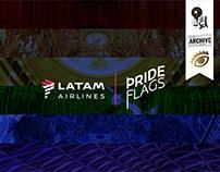 LATAM Airlines / Pride Flags