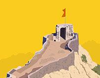 Pratapgad a war fort in Maharashtra