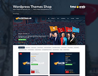 Wordpress Theme Shop Website
