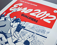 European Championship Limited Edition Poster
