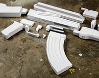 Papercraft AK-47