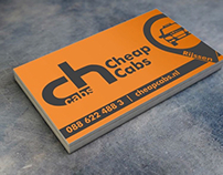 Business card graphic - Cheap cabs