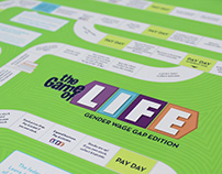 Game of Life: Gender Wage Gap Edition