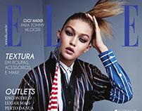 Capa de revista - ELLE