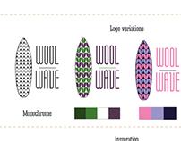 Логотип и бренд-борд для вязаных изделий