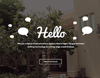 Socialize Agency Website Design