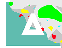 Logo, Branding . Modular identity system.
