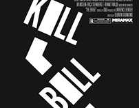 Kill Bill Poster Series