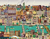 Andrés Lozano - Cities in Layers