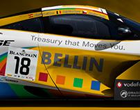 McLaren 720S GT3 Bellin