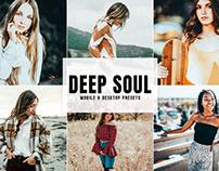 Free Deep Soul Mobile & Desktop Lightroom Presets