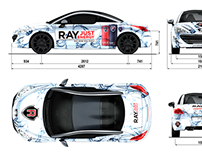 Ray Just Energy Drink - Car design