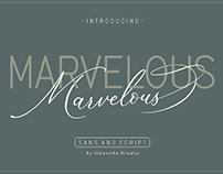 FREE | The Marvelous Font Duo