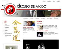 Círculo de Aikido - Logo, Web Design