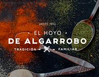 El Hoyo de Algarrobo – Branding