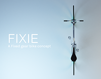 Fixie, A Fixed gear bike concept