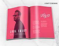 Duotone Magazine Spreads