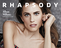 Allison Williams for Rhapsody magazine