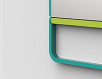 GÅNGJÄRN Wall Mirror - IKEA YDA Award 2015