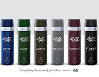4ME - Perfumed Body Spray