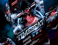 Time Beat Flyer Template